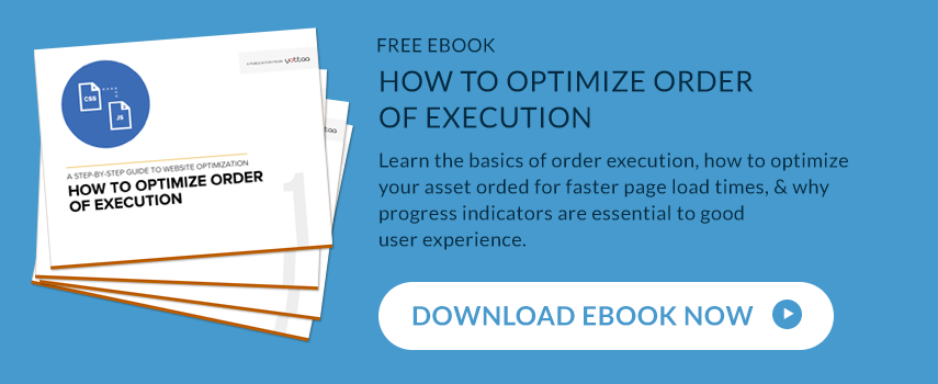 Yottaa How to Optimize Order of Execution Ebook Download