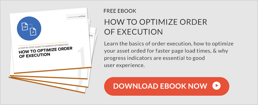 how to optimize order of execution