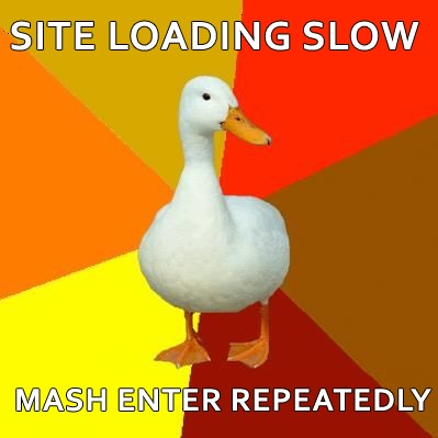 site loading slow